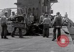 Image of Cleanup after USS Forrestal fire Gulf of Tonkin Vietnam, 1967, second 12 stock footage video 65675031060
