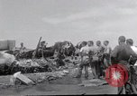Image of USS Forrestal fire cleanup Gulf of Tonkin Vietnam, 1967, second 8 stock footage video 65675031062