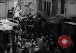 Image of Crowded streets of Tangier Tangier Morocco, 1938, second 4 stock footage video 65675031068