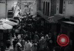 Image of Crowded streets of Tangier Tangier Morocco, 1938, second 6 stock footage video 65675031068