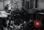 Image of Crowded streets of Tangier Tangier Morocco, 1938, second 7 stock footage video 65675031068
