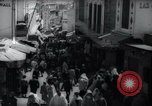 Image of Crowded streets of Tangier Tangier Morocco, 1938, second 8 stock footage video 65675031068