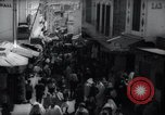Image of Crowded streets of Tangier Tangier Morocco, 1938, second 9 stock footage video 65675031068