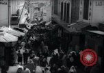 Image of Crowded streets of Tangier Tangier Morocco, 1938, second 10 stock footage video 65675031068