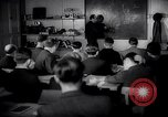 Image of Jewish refugees in class Paris France, 1938, second 2 stock footage video 65675031080