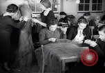 Image of Jewish refugees learn sewing Paris France, 1938, second 8 stock footage video 65675031081