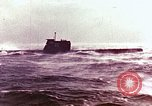 Image of Soviet submarine and missile launch Arctic Ocean, 1969, second 1 stock footage video 65675031090