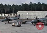 Image of F-4 Phantom squadron scramble Europe, 1969, second 11 stock footage video 65675031106