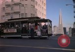 Image of city panorama San Francisco California USA, 1976, second 6 stock footage video 65675031129