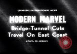 Image of Chesapeake Bay Bridge-Tunnel dedication Virginia Beach United States USA, 1964, second 1 stock footage video 65675031135