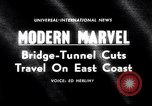 Image of Chesapeake Bay Bridge-Tunnel dedication Virginia Beach United States USA, 1964, second 4 stock footage video 65675031135