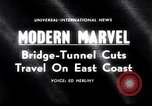 Image of Chesapeake Bay Bridge-Tunnel dedication Virginia Beach United States USA, 1964, second 5 stock footage video 65675031135