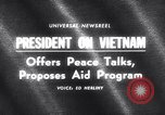 Image of President Lyndon B Johnson Baltimore Maryland USA, 1965, second 2 stock footage video 65675031140