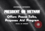 Image of President Lyndon B Johnson Baltimore Maryland USA, 1965, second 5 stock footage video 65675031140