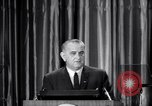 Image of President Lyndon B Johnson Baltimore Maryland USA, 1965, second 6 stock footage video 65675031140