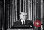 Image of President Lyndon B Johnson Baltimore Maryland USA, 1965, second 11 stock footage video 65675031140