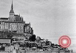 Image of Mont-Saint-Michel Normandy France, 1931, second 10 stock footage video 65675031148