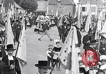 Image of Festival in Brittany Pont l'Abbe Bretagne France, 1931, second 4 stock footage video 65675031150