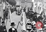 Image of Festival in Brittany Pont l'Abbe Bretagne France, 1931, second 6 stock footage video 65675031150