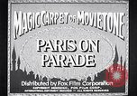 Image of Paris Paris France, 1933, second 1 stock footage video 65675031151