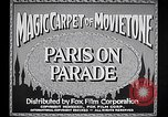 Image of Paris Paris France, 1933, second 10 stock footage video 65675031151
