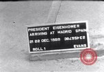 Image of President Dwight Eisenhower Madrid Spain, 1959, second 1 stock footage video 65675031174