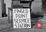 Image of Fingerprint Service Station United States USA, 1936, second 2 stock footage video 65675031190