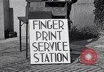 Image of Fingerprint Service Station United States USA, 1936, second 4 stock footage video 65675031190