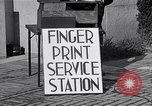 Image of Fingerprint Service Station United States USA, 1936, second 5 stock footage video 65675031190