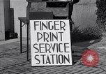 Image of Fingerprint Service Station United States USA, 1936, second 11 stock footage video 65675031190