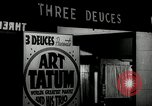 Image of Art Tatum New York City USA, 1943, second 2 stock footage video 65675031233