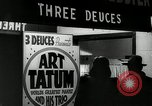 Image of Art Tatum New York City USA, 1943, second 12 stock footage video 65675031233