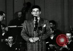 Image of Frank Sinatra New York City USA, 1943, second 12 stock footage video 65675031234
