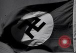 Image of Nazi Party flag Berlin Germany, 1935, second 2 stock footage video 65675031317