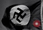 Image of Nazi Party flag Berlin Germany, 1935, second 10 stock footage video 65675031317