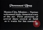 Image of Charles Lindbergh Mexico City Mexico, 1927, second 8 stock footage video 65675031339