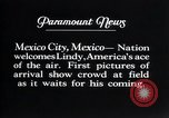 Image of Charles Lindbergh Mexico City Mexico, 1927, second 11 stock footage video 65675031339