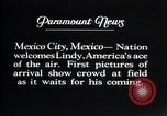 Image of Charles Lindbergh Mexico City Mexico, 1927, second 12 stock footage video 65675031339
