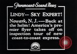 Image of Charles Lindbergh Newark New Jersey USA, 1929, second 3 stock footage video 65675031343