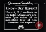 Image of Charles Lindbergh Newark New Jersey USA, 1929, second 9 stock footage video 65675031343