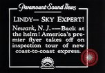 Image of Charles Lindbergh Newark New Jersey USA, 1929, second 10 stock footage video 65675031343