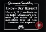 Image of Charles Lindbergh Newark New Jersey USA, 1929, second 11 stock footage video 65675031343