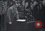 Image of Adolf Hitler speaks Germany, 1933, second 6 stock footage video 65675031410