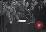 Image of Adolf Hitler speaks Germany, 1933, second 7 stock footage video 65675031410