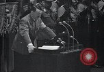 Image of Adolf Hitler speaks Germany, 1933, second 8 stock footage video 65675031410