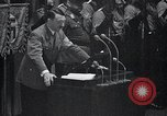 Image of Adolf Hitler speaks Germany, 1933, second 11 stock footage video 65675031410