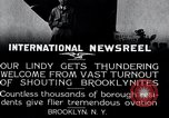 Image of Charles Lindbergh Brooklyn New York City USA, 1927, second 5 stock footage video 65675031419