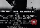 Image of Charles Lindbergh New York United States USA, 1927, second 3 stock footage video 65675031420