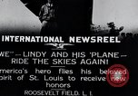 Image of Charles Lindbergh New York United States USA, 1927, second 4 stock footage video 65675031420