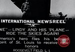 Image of Charles Lindbergh New York United States USA, 1927, second 5 stock footage video 65675031420